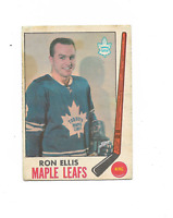 1969-70 O-Pee-Chee #46 Ron Ellis Toronto Maple Leafs