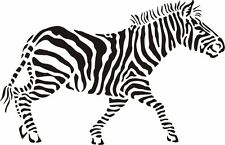 High Detail Zebra Aerografo Stencil-Gratis UK Spese Postali