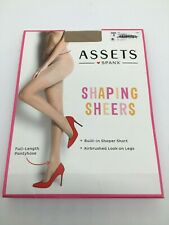SPANX ASSETS Size 3 Nude Shaping Sheers NEW 155-180 LB