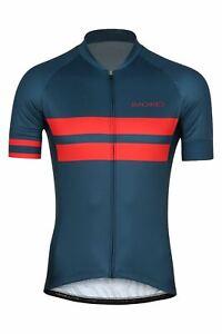 Sundried Men's Short Sleeve Retro Cycle Jersey Road Bike Cycling Top MTB