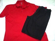 Set of Mens Nice Hurley Shorts 32 & NWOT Medium Adidas Climalite Shirt