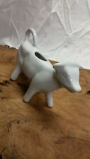 White Ceramic Cow Creamer Pitcher