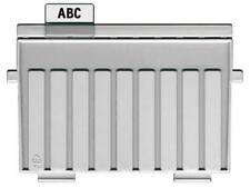 HAN Stützplatte A5 quer für Karteitröge und Karteikasten lichtgrau