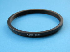 62mm to 58mm Stepping Step Down Ring Camera Lens Filter Adapter Ring 62-58mm