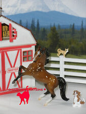BREYER STABLEMATE CLUB 2017 2ND RELEASE ZAHRAT GLOSSY REARING ARABIAN STABLEMATE