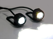 Super Bright CREE LED Motorcycle Mirror Mount LED Daytime Running / Fog Lights