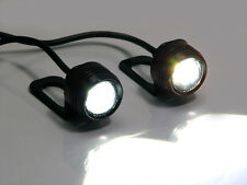 Daytime Running / Fog Lights Super Bright CREE LED Motorbike Mirror Mount