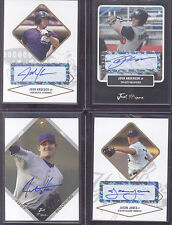 2004 Just Minors Josh Kroeger Jethawks Autograph Baseball Card Gold Ed+3 Cards