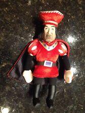 Dreamworks McFarlane Toys Shrek Lord Farquaad RARE plush doll