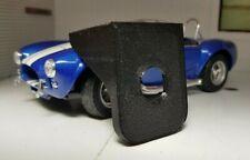 Black Classic Car Lucas Type Toggle Switch Dash Mounting Bracket Panel 1960-80