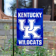 Kentucky UK Wildcats Wordmark Garden Flag and Yard Banner