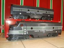LGB 21570 21582 NEW YORK CENTRAL F7 A&B DIESEL LOCO SET WITH SOUND LN IN BOXES!