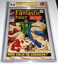 Fantastic Four #61 CGC SS Signature Autograph STAN LEE Silver Surfer Sandman App