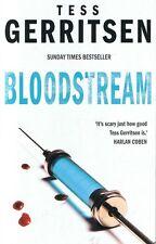 TESS GERRITSEN - Bloodstream - Medical Thriller FREE POST
