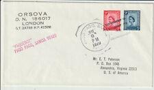 "SAMOA - ""PAQUEBOT PAGO PAGO, SAMOA"" 1970 COVER"