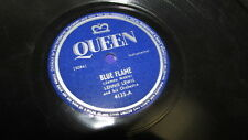 LENNIE LEWIS QUEEN 78 RPM RECORD 4133 MEAN BAD AND EVIL BLUES