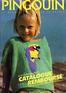 """catalogue tricot enfant  """" PINGOUIN """" N° 115"""