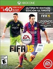 FIFA 15: Ultimate Edition (Microsoft Xbox One, 2014) Used Once