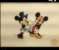 The Walt Disney Company Minne Lover Mickey Limited Edition Serigraph CEL Frame