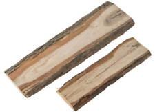 Eichenbretter Rinde Dekobretter Schwartenbretter Holz Deko 1 Stk. – 2 Größen