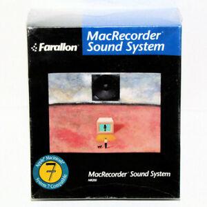 1990 Farallon MacRecorder Sound System MR200 for Mac new in original shrink-wrap