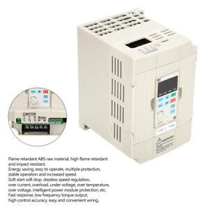 0.75KW 220VAC VFD Frequenzumrichter Einphasig Eingabe Bis 3-Ph Ausgabe DE