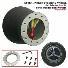 Steering Wheel Hub Adapter Boss Kit For Mercedes Benz W123 W124 260E 280E 320E