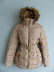 Le redoute Padded Duck Down & Feather Coat Jacket size 14, More like size small