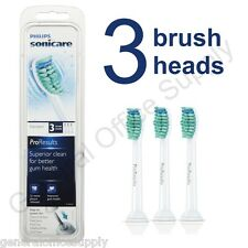 Philips Sonicare ProResults Sealed Pack Of 3 Replacement Toothbrush Heads HX6013