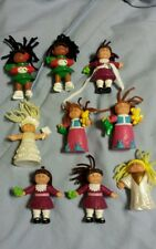Vintage Lot of 9 1990's Cabbage Patch Dolls Kids McDonalds Happy Meal toys