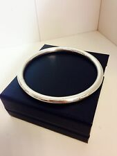 Bangle 925 Sterling Silver Abstract Ladies Womens Jewellery Hand Crafted
