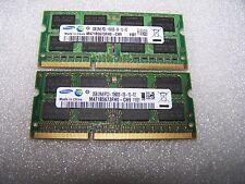 4GB Samsung DDR3-1333MHZ PC3-10600S 204-Pin Laptop RAM, 2x 2GB