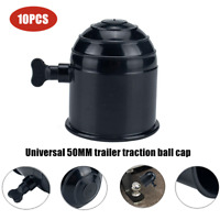 50MM ABS Tow Ball Bar Cap Cover Towing Car Van Trailer traction Towball Protect