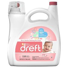 Dreft Ultra Concentrated Liquid Laundry Detergent 110 loads 150 fl oz