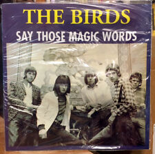 BIRDS Say Those Magic Words LP VINYL RON WOOD FACES ROLLING STONES WAVY JACKET