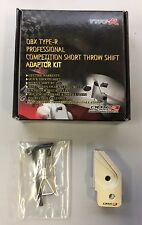 OBX Short Throw Shifter Adapter Kit Fits 92 93 94 95 96 Honda Prelude M/T