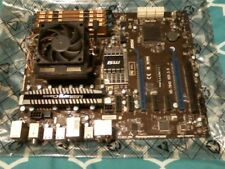 MSI 990FX-GD65v2 motherboard plus cooler plus AMD FX 8120 plus 16 gb ddr3,,