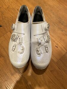 Shimano S-PHYRE RC-901 Men's road cycling shoes White size 44 US 10
