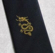 Vintage Tie MENS Necktie Crested Club Association Society SERPENT