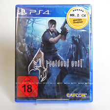 Resident Evil 4 - UNCUT - deutsche Handelsversion - PS4 *nagelneu*