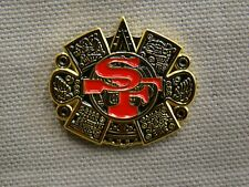 San Francisco 49ers hat pin withAztec design Niner Empire pin niner pin SF pin