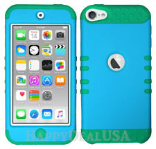 For Apple iPod Touch iTouch 5 6 - KoolKase Hybrid Silicone Cover Case BLUE (FL)