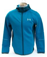 Under Armour Cruise Blue UA Storm Swacket Zip Front Hooded Jacket Men's NWT