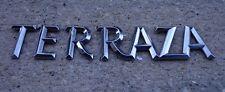Buick Terraza emblem badge decal logo symbol rear chrome OEM Genuine Stock hatch