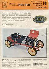 Catalogo POCHER RIVAROSSI  1973 Autos Scale 1-8 FIAT 130  ecc      IT F D E   aa