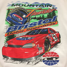Vintage Rugged Sweats Shirt Mountain Thunder Bristol Motor Speedway Size L USA