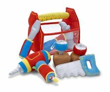 Melissa & Doug Toolbox Fill & Spill Soft Plush Play Tools With Vibrating Drill