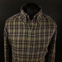 Chaps Mens Vintage Ralph Lauren Shirt 3XL TALL Long Sleeve Regular Fit Check