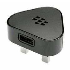 New Porsche Design BlackBerry P'9981 Adapter 3pin UK Black ASY-24479-004
