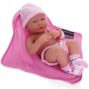 Molly Dolly My First Newborn 30cm Girl Baby Doll - Reborn, Lifelike & Realistic